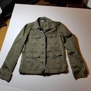 J. Crew Military Field Jacket Womens XS